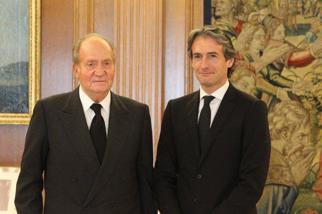 El Rey recibe en Zarzuela al presidente de la FEMP