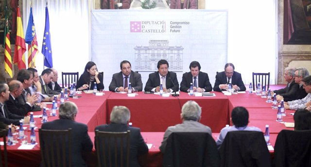 José Císcar en la constitución del comité de concesión de Castelló Ruta de Sabor