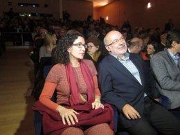 Marta Rovira (ERC) Josep Maria Terricabras