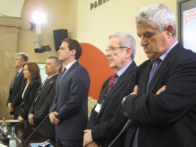 M.Alonso,C.Mejías,J.Varga,A.Rivera,padre de S.Santamaría,J.M.Fuster