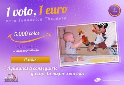 Pfizer y la Fundación Theodora ponen en marcha '1 clic, 1 euro', dirigida a profesionales sanitarios