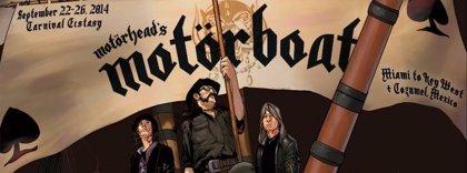 Motörhead se van de crucero con Megadeth y Anthrax
