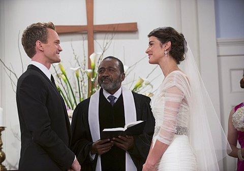 HIMYM, imágenes de la boda