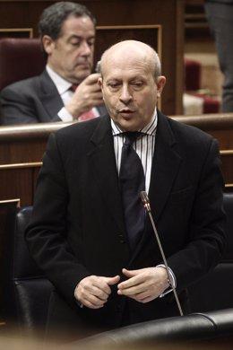 José Ignacio Wert. Sesión de control al Gobierno