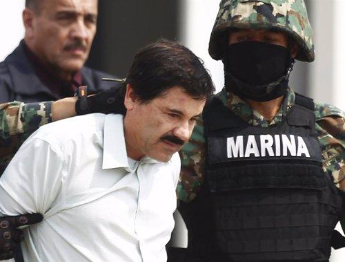 El líder del Cártel de Sinaloa, Joaquín, 'El Chapo' Guzmán.