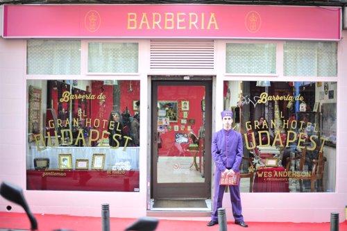 Barbería de 'El Gran Hotel Budapest'