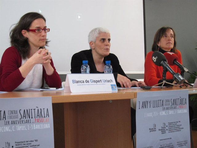 1R Aniversario De La Plataf.Para Una Asist.Sanitaria Universal En Catalunya