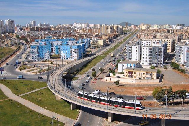 Tranvía de Oran, construido por Isolux