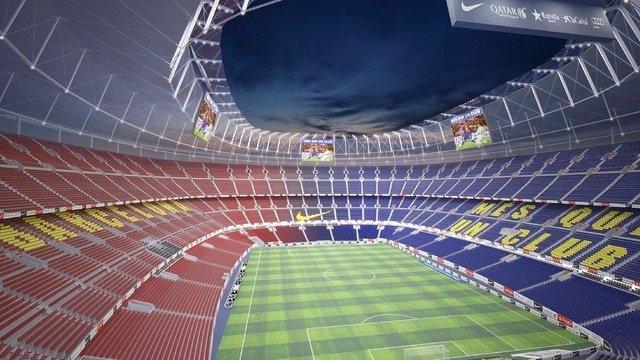 FC Barcelona estadio Camp Nou proyecto