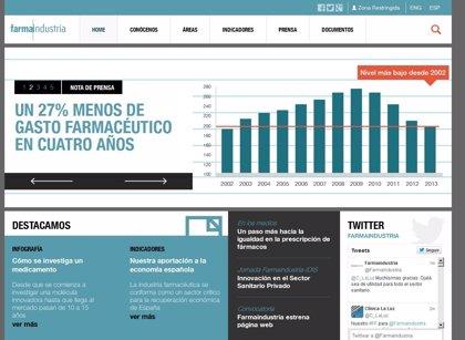 Farmaindustria renueva su página web con un nuevo diseño y más contenidos