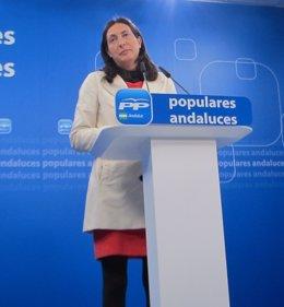 La secretaria general del PP-A Dolores López Gabarro