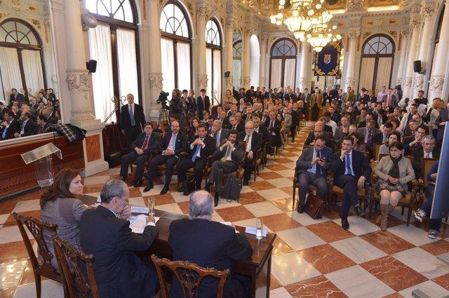 De la Torre preside la reunión del Clúster Marítimo Español (CME)