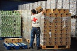 Voluntario de Cruz Roja