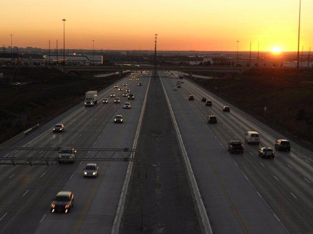 La autopista 407 ETR que Cintra (Ferrovial) explota en Toronto (Canadá)