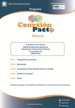 Programa - Conexión Pacto Mundial-Murcia