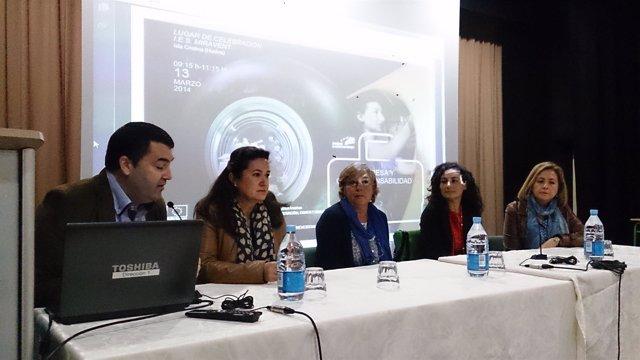 Acto del CADE y el IAM en Huelva.