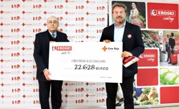 Donativo de Eroski a Cruz Roja Baleares