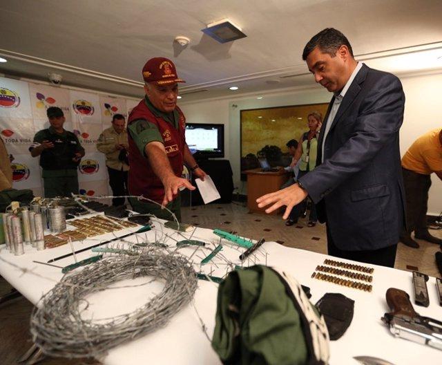 El ministro de Interior y Justicia de Venezuela, Miguel Rodríguez Torres