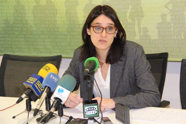 La alcaldesa de Torrelavega, Lidia Ruiz Salmón