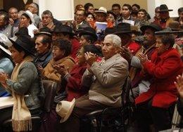 Ancianos bolivianos
