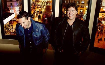 """Andy y Lucas han tenido una """"experiencia muy buena"""" colaborando con Carlos Baute"""