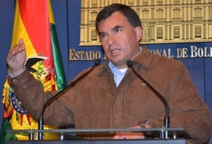 """El ministro de la Presidencia de Bolivia muestra su apoyo a Maduro """"de la manera más fiel"""""""