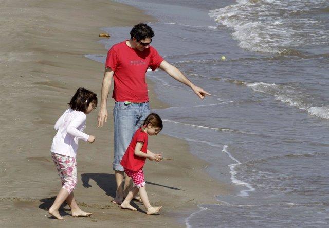 Recursos de niños, playa, buen tiempo, sol