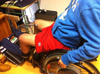 Una técnica conjunta de vibración y electroestimulación reduce la atrofia muscular y circulatoria en discapacitados
