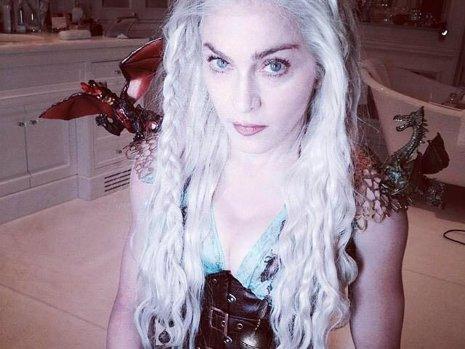 Madonna se disfraza de Daenerys de Juego de tronos