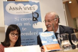 Anna Vives y Vicente del Bosque