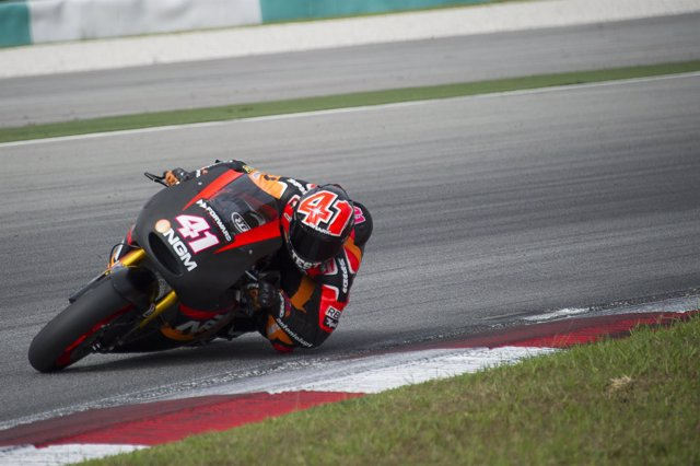 El piloto de MotoGP Aleix Espargaró (Forward Yamaha)