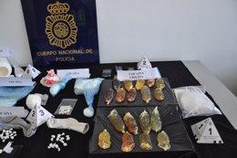 Cocaína intervenida a una banda desarticulada en el Vallès