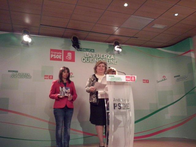 A secretaria de Ciudadanía del PSOE de Andalucía, Clara Aguilera,