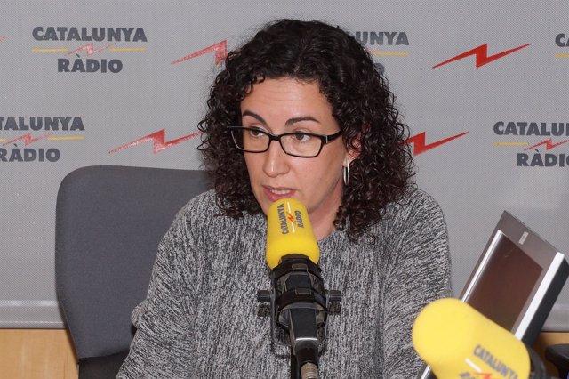 Marta Rovira, en una entrevista