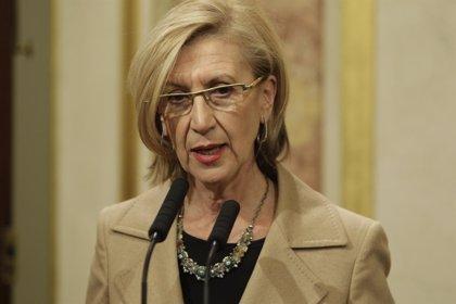 """Rosa Díez elogia a los jueces que """"no se doblegan"""" ante la liquidación """"impresentable"""" de la Justicia universal"""