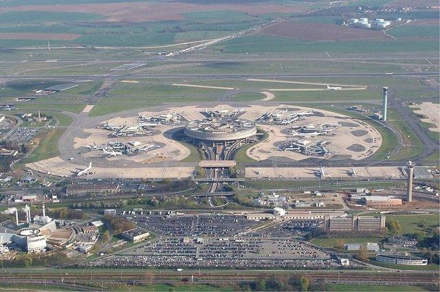 Aeropuerto de París `Charles De Gaulle