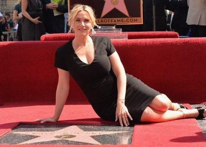 Kate Winslet ya puede presumir de tener su estrella en el Paseo de la Fama de Hollywood