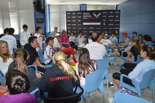 Rafa Nadal Tour by Mapfre en Sevilla