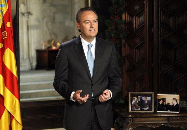 Alberto Fabra, en imagen de archivo.