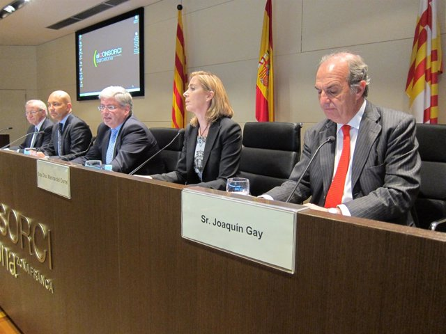 M.Valls, J.García-Legaz, J.Cornet, M.Del Corral y J.Gay de Montellà