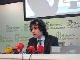 El subdirector general de Juventud, Ángel Ansa.