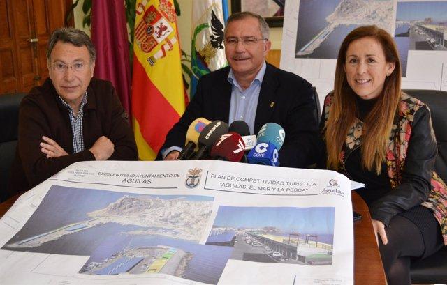 Presentación del nuevo Paseo Marítimo para el Puerto Pesquero de Águilas