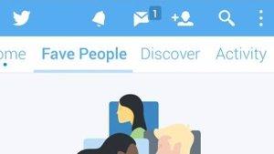 Nuevo timeline para favoritos de Twitter