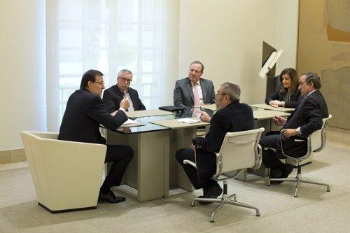 18/03/2014Madrid, Españael Presidente Del Gobierno, Mariano Rajoy Y La Ministra