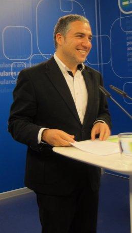 Elías Bendodo, portavoz del PP-A