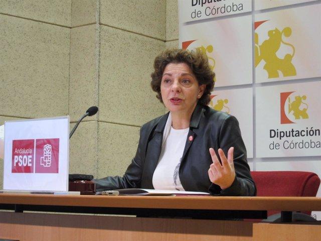 La portavoz adjunta del PSOE en la Diputación de Córdoba, Isabel Niñoles