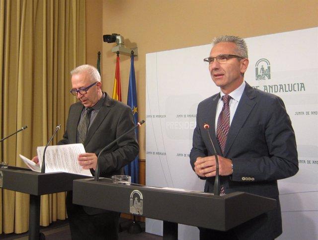 José Sánchez Maldonado y Miguel Ángel Vázquez, este martes