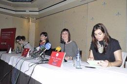 Imagen de la presentación de la conferencia mundial de turismo chino.