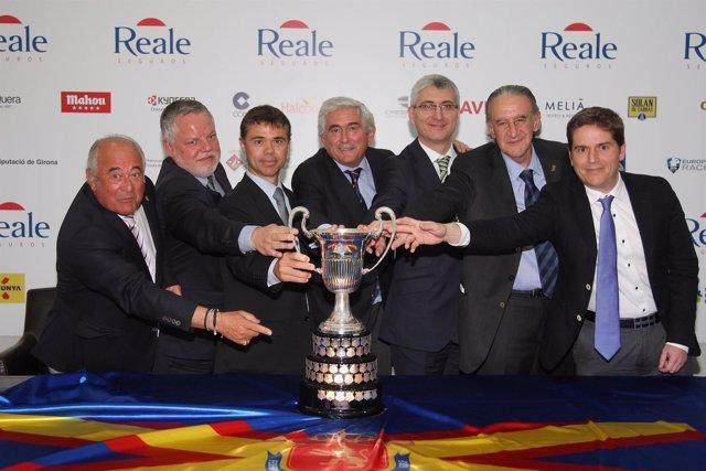 Presentación del Open de España 2014
