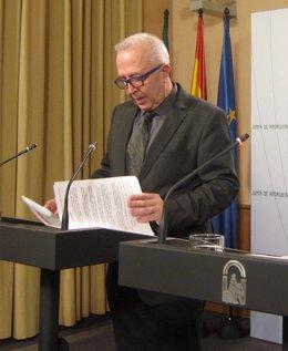 José Sánchez Maldonado, este martes